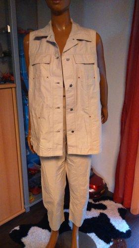 Yessica Trouser Suit cream