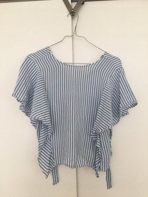 Sommer Shirt mit blauen weißen Streifen