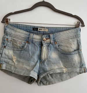 BSK by Bershka Denim Shorts azure