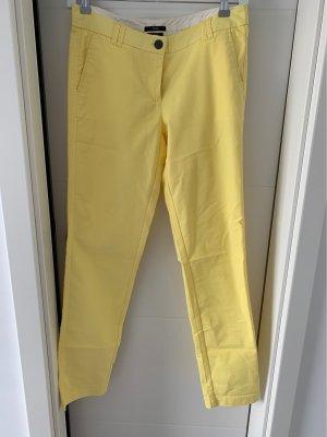 Zero Pantalon en jersey jaune