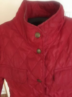 Cecilia Classics Quilted Jacket brick red polyester