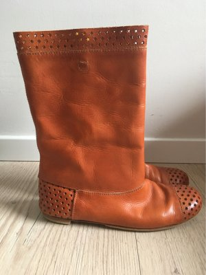 Elia Maurizi Desert Boots cognac-coloured leather