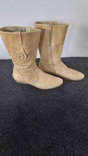 Maruti Korte laarzen lichtbruin