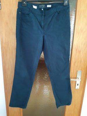 Classic by michele boyard Pantalone cinque tasche blu cadetto Cotone