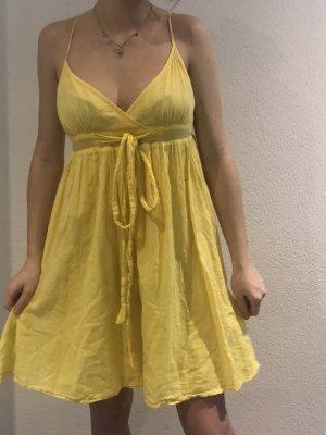Sukienka plażowa żółty
