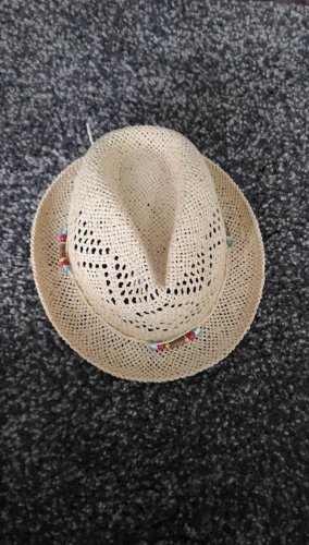 Straw Hat sand brown-beige