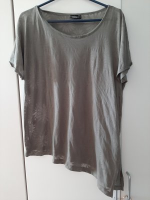 Kik T-shirt grigio-verde
