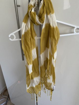 Kookai Summer Scarf sand brown-natural white
