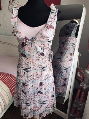 Sommer Wickel Kleid von s.Oliver Rosa/Rot gr.36/38, neu