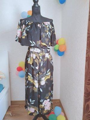 Spodnie garniturowe Wielokolorowy