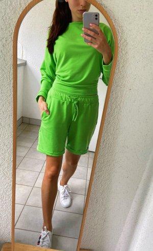 Simply Fashion Store Spodnie garniturowe Wielokolorowy