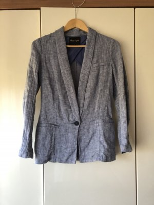 Phase eight Boyfriend Blazer white-steel blue
