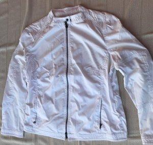 Art To Be Blouson white mixture fibre