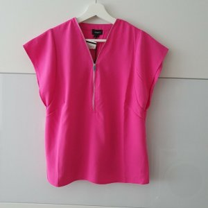 Aygill's Bluzka z krótkim rękawem różowy Poliester