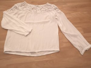Reserved Transparante blouse wit