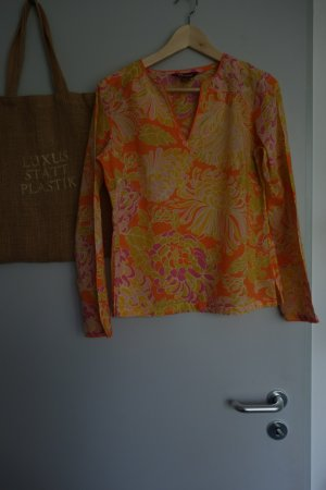 Monsoon Long Sleeve Blouse multicolored cotton