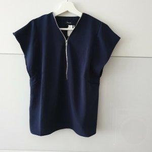 Aygill's Bluzka z krótkim rękawem ciemnoniebieski Poliester