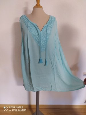 bpc Transparante blouse lichtblauw