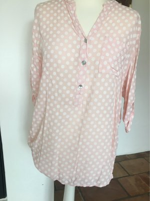 Slip-over Blouse white-pink