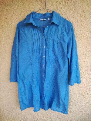 Tom Tailor Blusa larga azul aciano Algodón