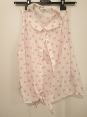 Sommerbluse Polka-dots!