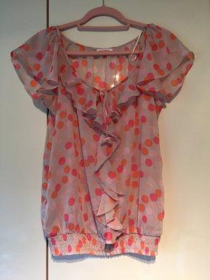 Sommerbluse / Shirt/ rüschenbluse Gr M Orsay