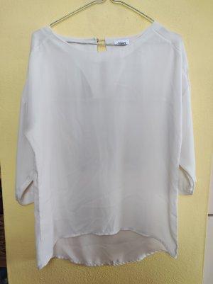 Only Blusa ancha blanco puro
