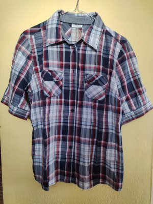 Street One Checked Blouse multicolored cotton