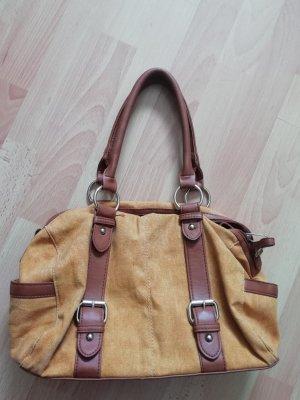 Sommerhandtasche in Trend-Gelb