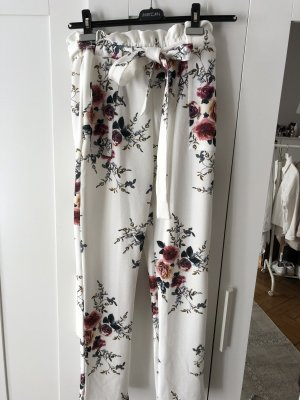 Pantalone culotte bianco