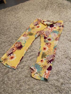 Steilmann Pantalone a 3/4 giallo