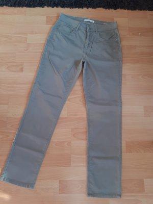 Stooker Kaki broek grijs-groen
