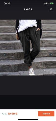Pantalón boyfriend negro