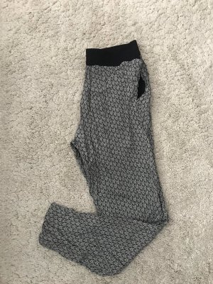 H&M Divided Pantalone alla turca nero-bianco