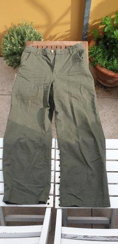 Monki 7/8 Length Trousers khaki