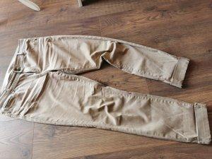 Esprit Boyfriend Trousers sand brown-light brown cotton