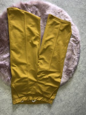 Pantalon 3/4 brun sable-jaune