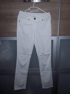 Cecilia Classics Five-Pocket Trousers white cotton