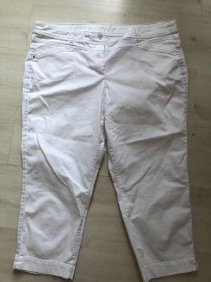 Sommerhose 7/8 weiß Gr 46