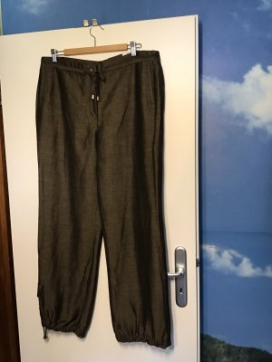 Elegance Prestige Linen Pants bronze-colored