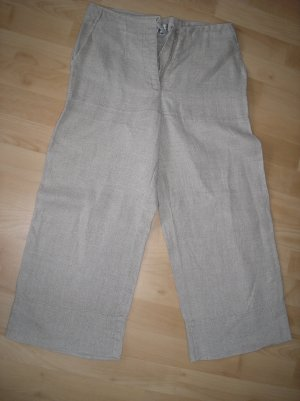 Sommerhose aus Sackleinen Gr. 36 H&M ; 3/4 lang