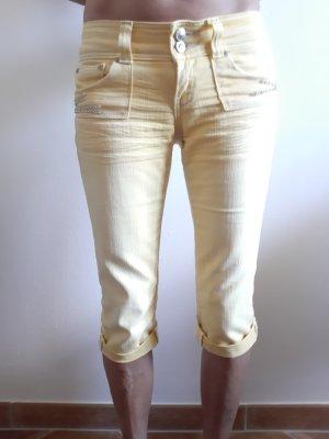 Fracomina 3/4 Length Jeans yellow