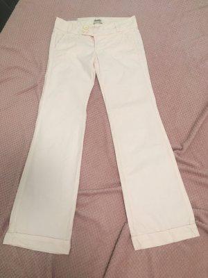 Bershka Pantalone Marlene rosa pallido-rosa chiaro