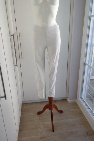 Ancora Stretch broek wit Polyester