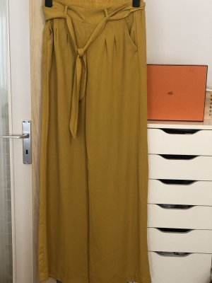Stradivarius Falda pantalón marrón arena