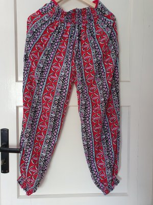 no name Harem Pants multicolored