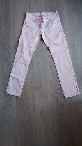 Blue Motion Pantalon taille basse vieux rose