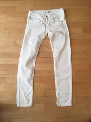 Terranova Pantalone cinque tasche bianco