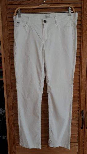 Yessica Pantalon en jersey blanc