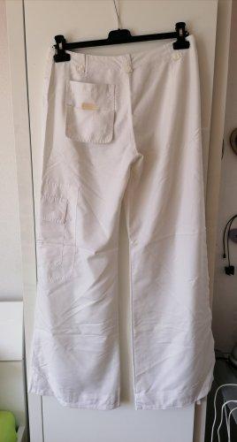 Evita Spodnie Marlena biały